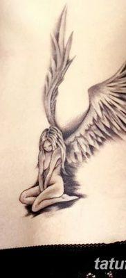 фото тату ангел смерти от 28.10.2017 №015 – angel death tattoo – tatufoto.com