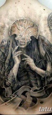 фото тату ангел смерти от 28.10.2017 №017 – angel death tattoo – tatufoto.com
