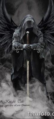 фото тату ангел смерти от 28.10.2017 №022 – angel death tattoo – tatufoto.com
