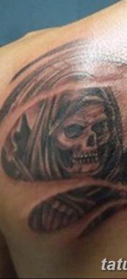 фото тату ангел смерти от 28.10.2017 №025 – angel death tattoo – tatufoto.com