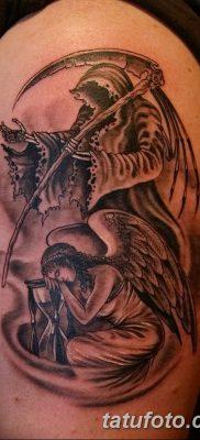фото тату ангел смерти от 28.10.2017 №026 – angel death tattoo – tatufoto.com