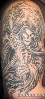 фото тату ангел смерти от 28.10.2017 №027 – angel death tattoo – tatufoto.com