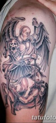 фото тату ангел смерти от 28.10.2017 №032 – angel death tattoo – tatufoto.com