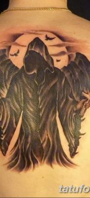 фото тату ангел смерти от 28.10.2017 №033 – angel death tattoo – tatufoto.com