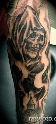 фото тату ангел смерти от 28.10.2017 №034 – angel death tattoo – tatufoto.com