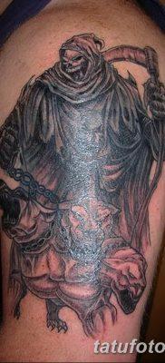 фото тату ангел смерти от 28.10.2017 №036 – angel death tattoo – tatufoto.com