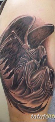 фото тату ангел смерти от 28.10.2017 №037 – angel death tattoo – tatufoto.com