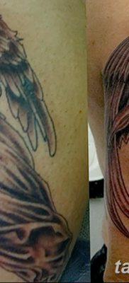 фото тату ангел смерти от 28.10.2017 №038 – angel death tattoo – tatufoto.com
