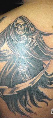 фото тату ангел смерти от 28.10.2017 №040 – angel death tattoo – tatufoto.com
