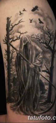 фото тату ангел смерти от 28.10.2017 №041 – angel death tattoo – tatufoto.com