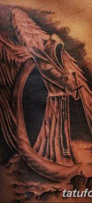 фото тату ангел смерти от 28.10.2017 №042 – angel death tattoo – tatufoto.com