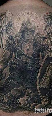 фото тату ангел смерти от 28.10.2017 №045 – angel death tattoo – tatufoto.com