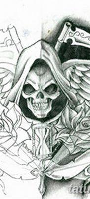 фото тату ангел смерти от 28.10.2017 №046 – angel death tattoo – tatufoto.com
