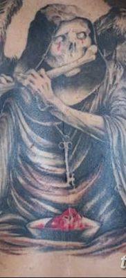 фото тату ангел смерти от 28.10.2017 №047 – angel death tattoo – tatufoto.com