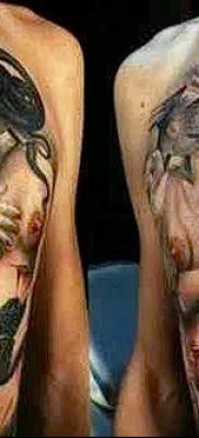 фото тату ангел смерти от 28.10.2017 №048 – angel death tattoo – tatufoto.com