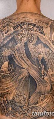 фото тату ангел смерти от 28.10.2017 №049 – angel death tattoo – tatufoto.com