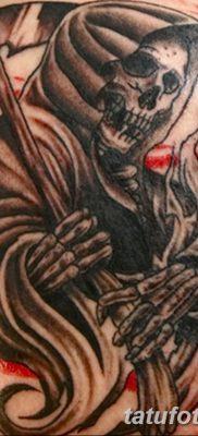 фото тату ангел смерти от 28.10.2017 №050 – angel death tattoo – tatufoto.com