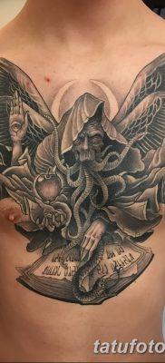 фото тату ангел смерти от 28.10.2017 №051 – angel death tattoo – tatufoto.com