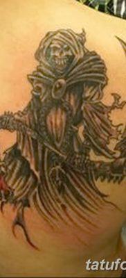 фото тату ангел смерти от 28.10.2017 №053 – angel death tattoo – tatufoto.com