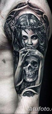фото тату ангел смерти от 28.10.2017 №054 – angel death tattoo – tatufoto.com