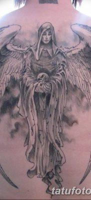 фото тату ангел смерти от 28.10.2017 №055 – angel death tattoo – tatufoto.com