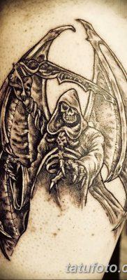 фото тату ангел смерти от 28.10.2017 №058 – angel death tattoo – tatufoto.com