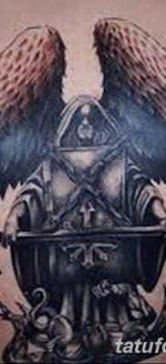 фото тату ангел смерти от 28.10.2017 №059 – angel death tattoo – tatufoto.com