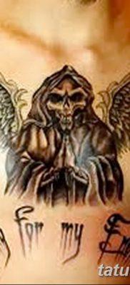 фото тату ангел смерти от 28.10.2017 №062 – angel death tattoo – tatufoto.com