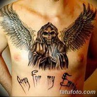 Значение тату «ангел смерти»