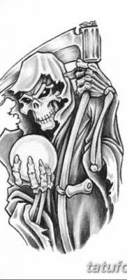 фото тату ангел смерти от 28.10.2017 №067 – angel death tattoo – tatufoto.com