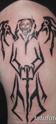 фото тату ангел смерти от 28.10.2017 №068 – angel death tattoo – tatufoto.com