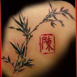 фото тату бамбук от 18.10.2017 №003 - tattoo bamboo - tatufoto.com