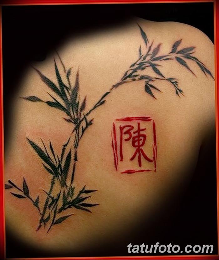 chinese calligraphy tattoo bamboo tattoo stamp tattoo - 700×829