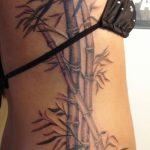 фото тату бамбук от 18.10.2017 №013 - tattoo bamboo - tatufoto.com