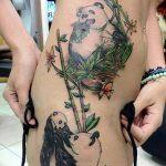 фото тату бамбук от 18.10.2017 №047 - tattoo bamboo - tatufoto.com