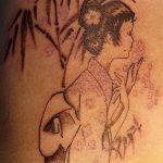 фото тату бамбук от 18.10.2017 №051 - tattoo bamboo - tatufoto.com