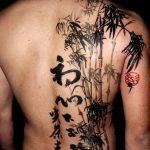 фото тату бамбук от 18.10.2017 №059 - tattoo bamboo - tatufoto.com