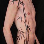 фото тату бамбук от 18.10.2017 №067 - tattoo bamboo - tatufoto.com