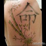 фото тату бамбук от 18.10.2017 №068 - tattoo bamboo - tatufoto.com