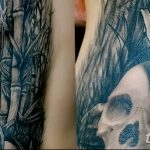 фото тату бамбук от 18.10.2017 №085 - tattoo bamboo - tatufoto.com