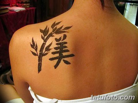 фото тату бамбук от 18.10.2017 №090 - tattoo bamboo - tatufoto.com