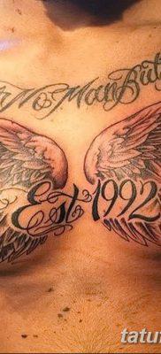 фото тату даты рождения от 11.10.2017 №037 – Date of birth tattoo – tatufoto.com