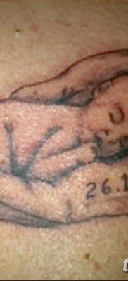фото тату даты рождения от 11.10.2017 №125 – Date of birth tattoo – tatufoto.com