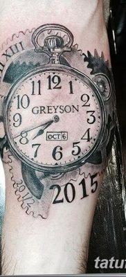 фото тату даты рождения от 11.10.2017 №135 – Date of birth tattoo – tatufoto.com