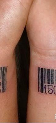 фото тату даты рождения от 11.10.2017 №151 – Date of birth tattoo – tatufoto.com