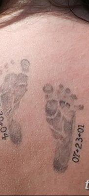 фото тату даты рождения от 11.10.2017 №165 – Date of birth tattoo – tatufoto.com