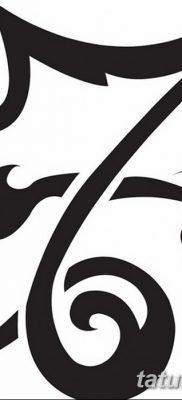 фото тату знак зодиака Козерог от 21.10.2017 №002 – tattoo sign of the zodiac Capricorn