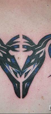 фото тату знак зодиака Козерог от 21.10.2017 №010 – tattoo sign of the zodiac Capricorn