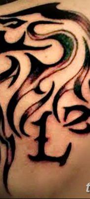 фото тату знак зодиака Лев от 21.10.2017 №011 – tattoo sign of the zodiac Leo