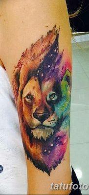 фото тату знак зодиака Лев от 21.10.2017 №027 – tattoo sign of the zodiac Leo